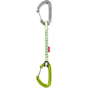 Ocun Kestrel QD DYN Quickdraw Set 8mm 15cm 5-Pack green